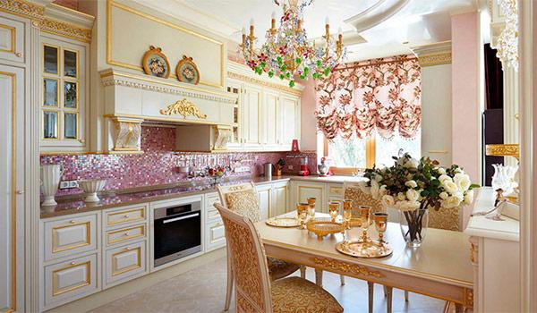 Стиль кухни. Дворцовый стиль