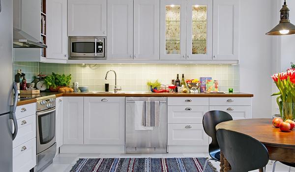 Стиль кухни. Скандинавский стиль