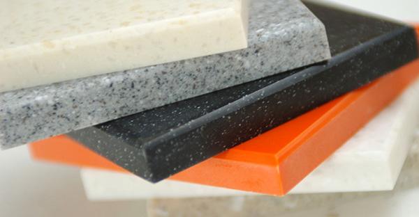 Столешницы для кухни: как выбрать оптимальный вариант. Искусственный камень