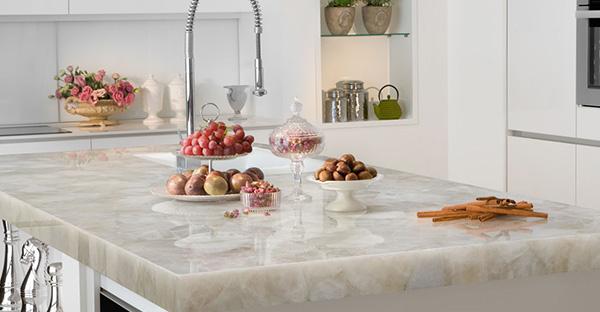 Столешницы для кухни: как выбрать оптимальный вариант. Натуральный камень